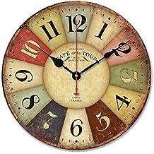 horloge murale geante