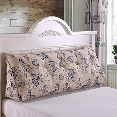 WOFULL Schaumbett-Keil mit gesteppter Abdeckung Mehrzweckkissen für Rücken-, Nacken- und Beinauflage, saurem Reflux-Relief (Farbe : 8, größe : 1.5m) - Kissen-abdeckungen Gesteppte Baumwolle