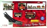 Lemax - Yuletide Express - Eisenbahn mit Soundeffekt - 16 teiliges Set - Christmas Village - Weihnachtswelt