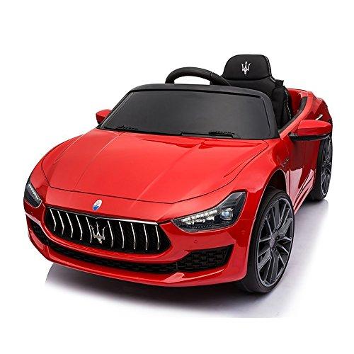 Maserati Macchina Elettrica per Bambini 12V Ghibli Rossa