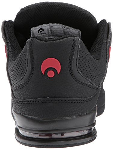 Osiris Chaussure PXL Noir-Rouge-Rouge Black/Red/Red