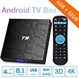 Newest Android 8.1 TV Box COOLEAD T9 Smart TV Box 4GB RAM...