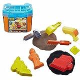 Mattel Bausand Eimer | Bob der Baumeister Sandspaß Spiel-Set | Mash & Mould
