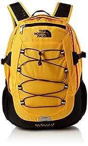 The North Face Unisex Borealis Backpack, Orange (Orange/Tnfylw/Tnfblack), One Size
