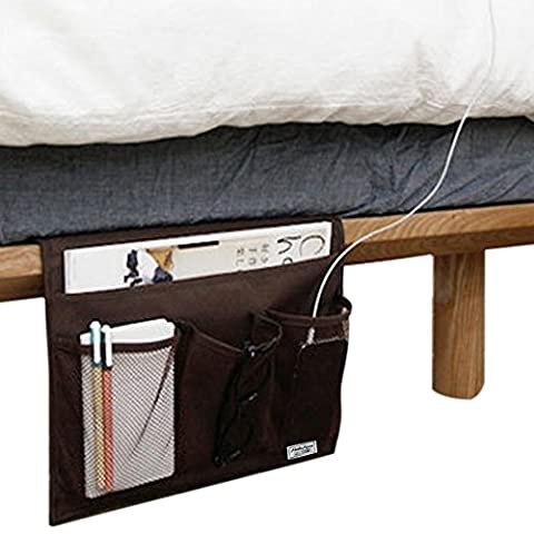 FakeFace Novelty Bedside Caddy Remote Tidy Pocket