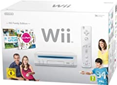 Idea Regalo - Nintendo Wii - Console Wii Family Edition, Bianca + Wii Sports + Wii Party + Telecomando Wii Plus + Nunchuck [Bundle]