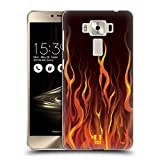 Head Case Designs Inferno Hot Rod Flamme Ruckseite Hülle für Zenfone 3 Deluxe 5.5 ZS550KL