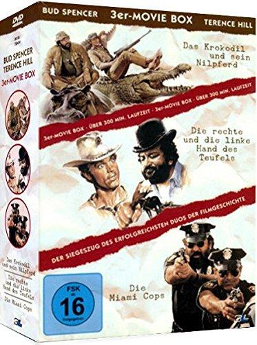 3er Movie Box BUD SPENCER & TERENCE HILL : Das Krokodil und sein Nilpferd + Die rechte und die linke Hand des Teufels + Die Mia