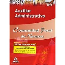 Auxiliar Administrativo De La Comunidad Foral De Navarra. Test
