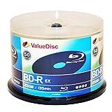 Value Disc BD-R 6X 25GB Blu-Ray 50 Pack ...
