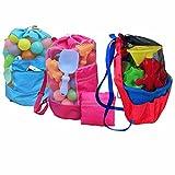 youndcc bolsa de malla bolsa de playa, playa, organizador de juguetes,...