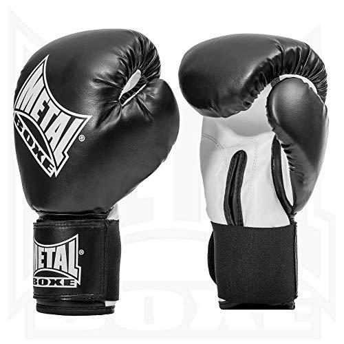 Metal Boxe PB480 - Guantes de boxeo, color negro -...