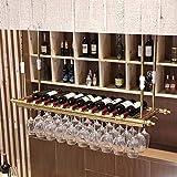 MTX Ltd Weinregale Glass Ceiling Rack - Verfügbare Größe für Jeden Raum, 100 cm * 30 cm