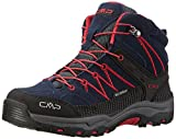 CMP Unisex-Erwachsene Rigel Trekking-& Wanderstiefel, Blau (Black Blue), 35 EU