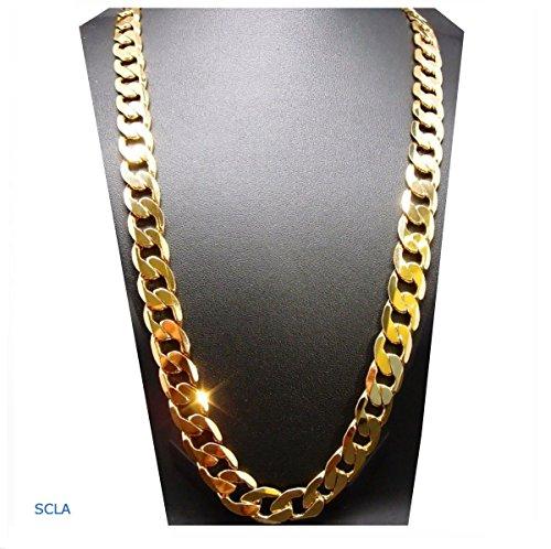 24k Diamond Cut Cuban  -  24k Vergoldet N/A