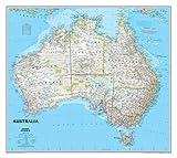 Australia politisch, laminiert