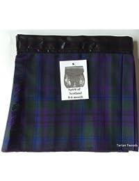 Espíritu de Escocia Velcro ajustable bebé cuadros tartán edad 0–24meses