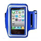 Armband für iPhone 7/6/6S Plus, LG G6G5, Galaxy S8S7S6Edge S8+, Note 5. etc. casehq Reflektierende Klett verstellbar Sport Training Running Tasche Schlüsselhalter, Bildschirm protector-hiking, Biking, Walking (schwarz)