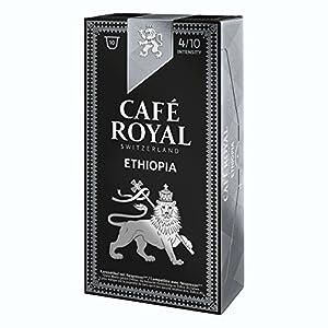 10 capsules Café Royal Single Origin Ethiopia Capsules compatibles Systeme Nespresso 7