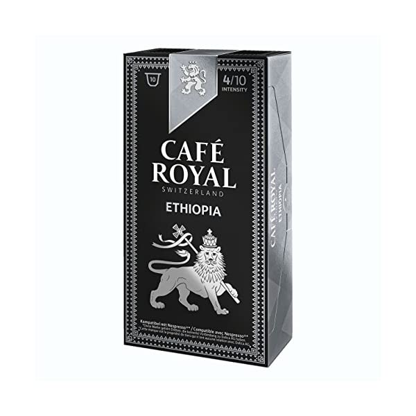 51TIT4%2B6LiL._SS600_ 10 capsules Café Royal Single Origin Ethiopia Capsules compatibles Systeme Nespresso
