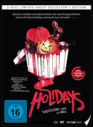 Bild von Holidays - Surviving them is hell (Uncut) - Limited Mediabook [Blu-ray]