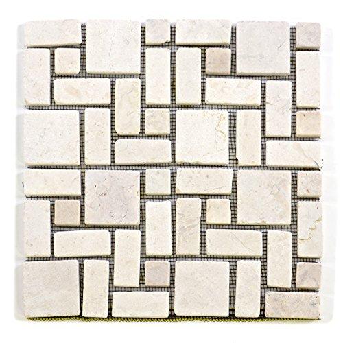 divero-marmor-naturstein-mosaik-fliesen-fur-wand-boden-romischer-verbund-creme-11-matten-30-x-30cm