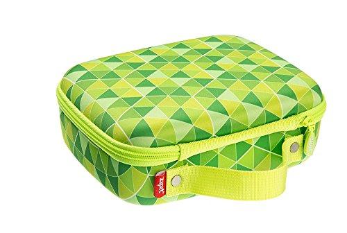 ZIPIT Colorz Lunchbox, Grüne Dreiecke