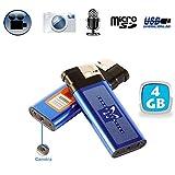 Accendino Camera Spia Fotocamera Registrazione Acustica USB 4GB