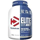 Dymatize Elite 100% Whey Protein – Premium Proteinpulver – Zuckerarmer Eiweiß-Shake – 2,1 kg Gourmet Vanilla