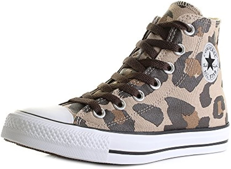 Converse   Converse Hi Vintage Khaki/Dark Ctas Chocolat Chuck TaylorChucks Schuhe Herren Damen Größe 36 5 (UK 4)