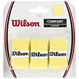 Wilson Griffbänder Comfort Pro Overgrip 3er Pack, Yellow, WRZ4014YE