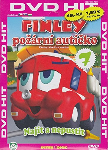 Finley - Najit a nepustit (Finley the Fire Engine DVD 7) [paper sleeve]