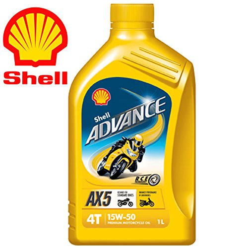 Shell Advance 4T AX5 15W50 Latta da 1 Litro