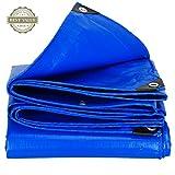 Li Li Na Shop Pavillons Markisen Markisen Wasserdichter Sonnenschutzplane des wasserdichten Tuches Visierschutz LKW-Ölgewebe-Segeltuch Isolierung (Color : Blue, Size : 500cm*800cm)