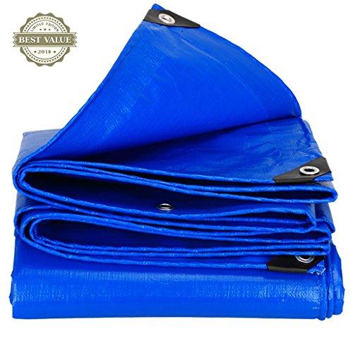 Li Li Na Shop Pavillons Markisen Markisen Wasserdichter Sonnenschutzplane des Wasserdichten Tuches Visierschutz LKW-Ölgewebe-Segeltuch Isolierung (Color : Blue, Size : 200cm*300cm)