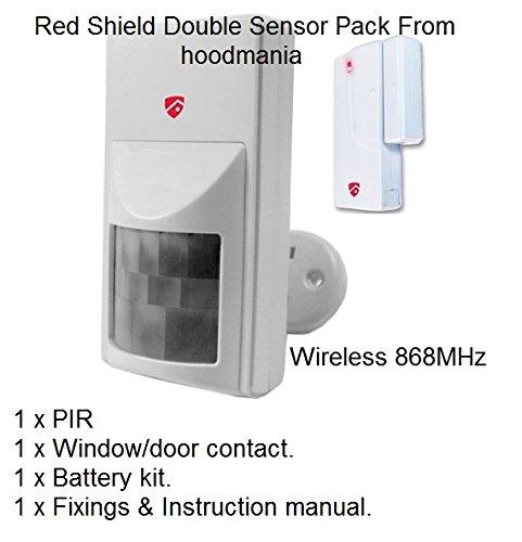 Preisvergleich Produktbild Red Shield 868MHz Alarm Sensor Accessory Pack. by redshield