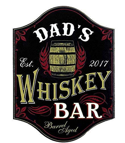 THOUSAND OAKS BARREL Thousand Oaks Schaft Dad 's Whiskey Bar Holz Schild