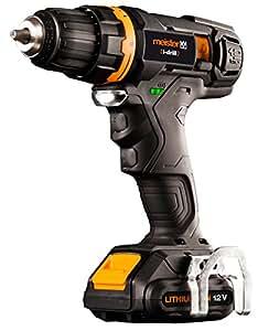 """Meister 5450560 Batterie pour perceuse-visseuse avec capteur """"i-drill"""" Noir 12 V"""