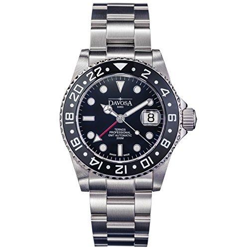 Davosa Swiss Ternos Professional TT GMT 16157150Automatische Herren Armbanduhr