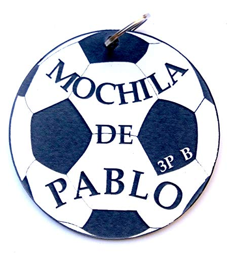 LLavero personalizado MOCHILA, Balón de futbol