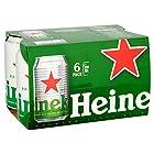 Heineken Lager Beer Can, 6 x 330ml