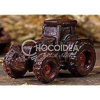 Choco Tractor/Choco Tractor, 100% artesanal, hecha a mano con chocolate fino belga Barry Callebaut (45g) 6,7 x.