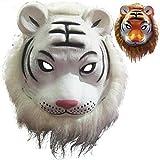 Masken Gesichtsmaske Gesichtsschutz Domino falsche Front Tier Maske Löwetiger-Wolforang-UTAN-Affeleopardkind Spielzeug Tiger