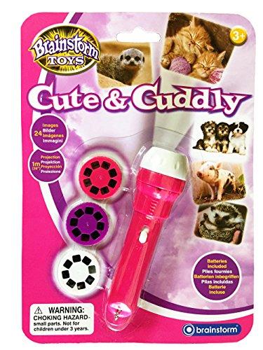 Brainstorm Toys Cute & Cuddly Taschenlampe und Projektor