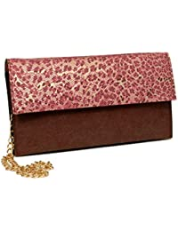 Borse Animal Print Pink Sling Bag With Adjustable Straps For Women/Girls - Gift For Mother Day