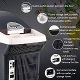Refrigerador para autos, mini refrigerador compacto y portátil, enfriadores y calentadores, capacidad de 8 litros, 100% libre de freón y respetuoso del medio ambiente, 12 VCC y 220 CA