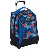 Zaino Scuola Big trolley Seven Yub Graffiti Boy 1823