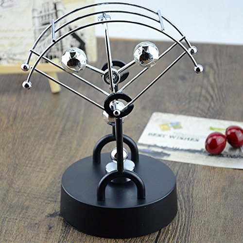 Decoresd Chaotic Pendulum Ball Wiggler Creative Science Instrument Parachute Fan Perpetual Instrument Of Spherical Models