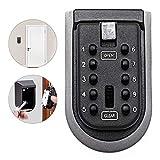 Qweidown Key Safe,Key Lock Box,Cassetta di Sicurezza Cassetta di Sicurezza Combinazione Key a parete con combinazione di tasti a 10 cifre,resistente alle intemperie pergli inquilini e custodia delle