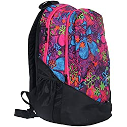 Pole Star Ranger Lite Weight Polyester 32 Ltrs Casual School College Backpack Bag With Laptop Compartment